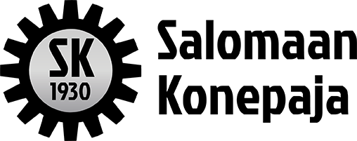 Salomaan Konepaja logo musta