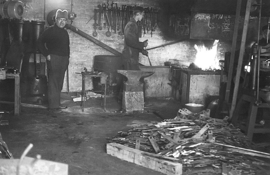 Salomaan Konepajan historia pajatyötä 50-luvulla